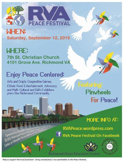 RVA Peace Festival 2015